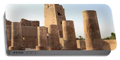 Portable Battery Charger featuring the photograph Kom Ombo by Silvia Bruno