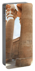 Portable Battery Charger featuring the photograph Kom Ombo Temple by Silvia Bruno