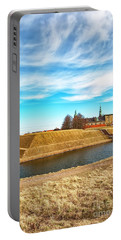 Portable Battery Charger featuring the photograph Kronborg Castle In Helsingor by Antony McAulay