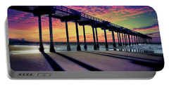 La Jolla's Iconic Scripps Pier Portable Battery Charger