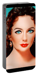 Lady Beautiful  Portable Battery Charger
