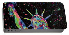Lady Liberty  Portable Battery Charger