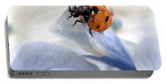 Ladybug Portable Battery Charger by Nailia Schwarz