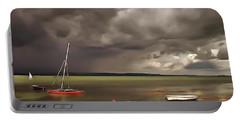 Lake Balaton Painting Portable Battery Charger