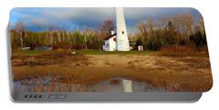 Lake Huron Lighthouse Portable Battery Charger