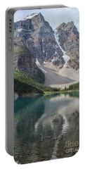Portable Battery Charger featuring the photograph Lake Maligne by Patricia Hofmeester