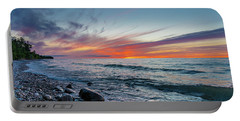 Lake Superior Sunset Portable Battery Charger