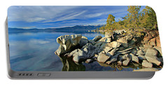 Lake Tahoe Rocks Portable Battery Charger