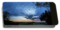 Portable Battery Charger featuring the photograph Landscape  by Mariusz Zawadzki