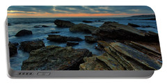 Last Light At Crystal Cove Portable Battery Charger