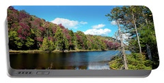 Late September On Bald Mountain Pond Portable Battery Charger