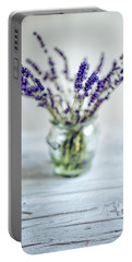 Lavender Still Life Portable Battery Charger
