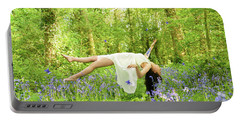 Levitation In Bluebells Portable Battery Charger