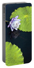 Portable Battery Charger featuring the photograph Lily Love by Suzanne Gaff