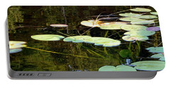 Lily Pads On The Lake Portable Battery Charger