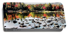 Lily Pond, Kancamagus Highway - New Hampshire  Portable Battery Charger