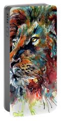 Lion Portable Battery Charger by Kovacs Anna Brigitta