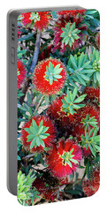 Little John Dwarf Bottlebrush Bloom Portable Battery Charger