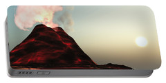 Living Volcano Portable Battery Charger