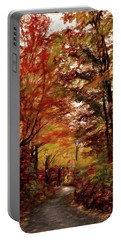 Long And Winding Road Portable Battery Charger