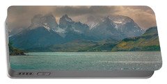 Los Cuernos  Portable Battery Charger by Andrew Matwijec