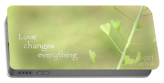 Love Changes Everything Portable Battery Charger