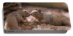 Portable Battery Charger featuring the photograph Love Is In The Air  by Saija Lehtonen