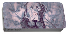 Portable Battery Charger featuring the photograph Love Of Dogs by Allen Beilschmidt