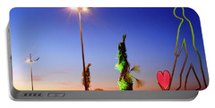 Portable Battery Charger featuring the photograph Love Statue by Fabrizio Troiani