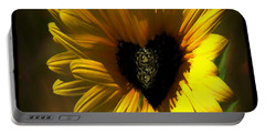Love Sunflower Portable Battery Charger