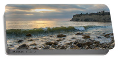 Lunada Bay Portable Battery Charger by Ed Clark