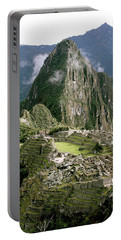 Machu Picchu At Sunrise Portable Battery Charger