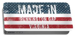 Made In Pennington Gap, Virginia Portable Battery Charger