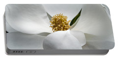Magnolia Flower Portable Battery Charger