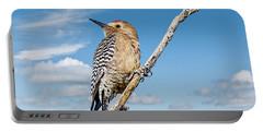 Male Gila Woodpecker Portable Battery Charger
