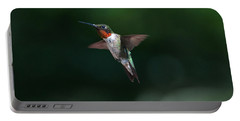 Male Ruby Throated Hummingbird Portable Battery Charger