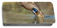 Mallard Duck Female Portable Battery Charger