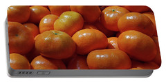 Mandarin Oranges Portable Battery Charger