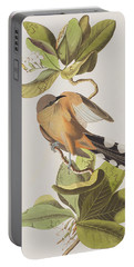 Mangrove Cuckoo Portable Battery Charger by John James Audubon