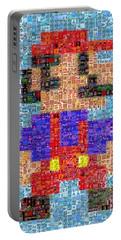 Mario Mosaic Portable Battery Charger