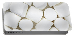 Portable Battery Charger featuring the photograph Marshmallows by Elena Elisseeva