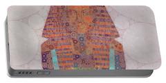 Mask Of Tutankhamun, Pop Art By Mb Portable Battery Charger