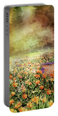Portable Battery Charger featuring the photograph Masquerade by Diana Angstadt