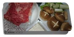 Materials Of The Sukiyaki Dish  Portable Battery Charger