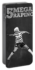 Megan Rapinoe Portable Battery Charger by Semih Yurdabak