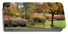 Portable Battery Charger featuring the photograph Mellow Days by Betsy Zimmerli