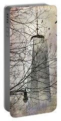 Portable Battery Charger featuring the photograph Memorial by Judy Wolinsky
