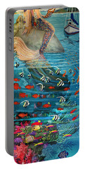 Mermaid In Paradise Portable Battery Charger