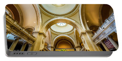 Portable Battery Charger featuring the photograph Metropolitan Museum Of New York by Marvin Spates