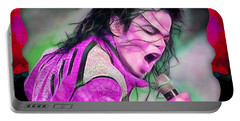Michael Jackson Collection Portable Battery Charger